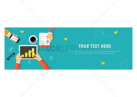 Technology : Business template design