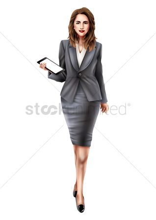 Posing : Businesswoman