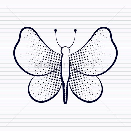 Icons : Butterfly design