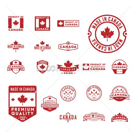 Insignia : Canada labels collection