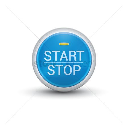 Power button : Car engine start and stop button