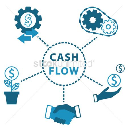 Flow : Cash flow icons