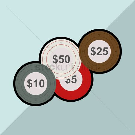 Poker chips : Casino chips