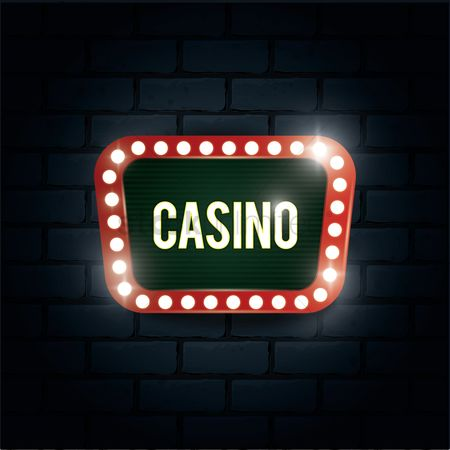 Brick : Casino sign