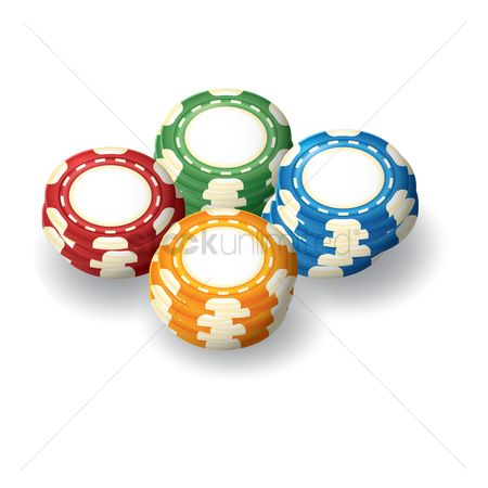 Poker chips : Casino tokens