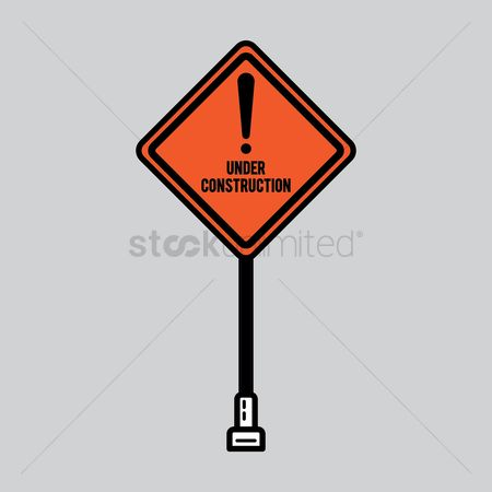 Beware : Caution sign board