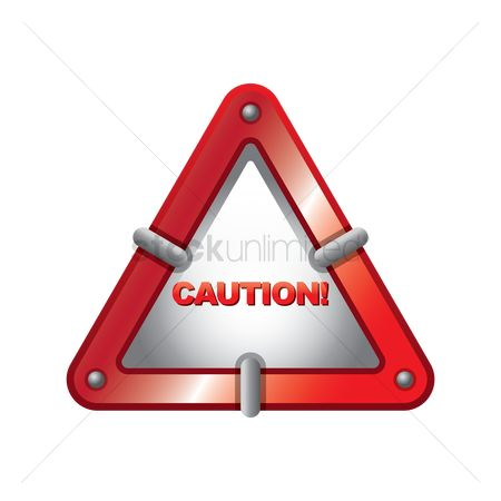 Attention : Caution sign