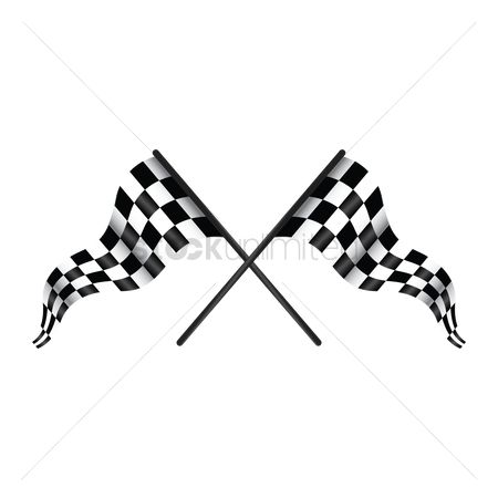 Race : Checkered flags