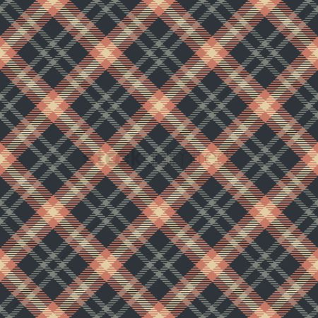 Cloth : Checkered pattern