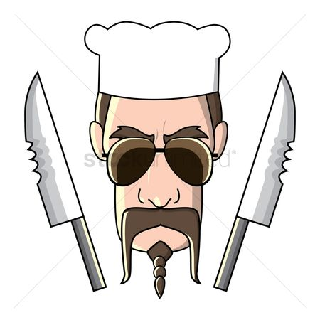 Challenges : Chef with knives