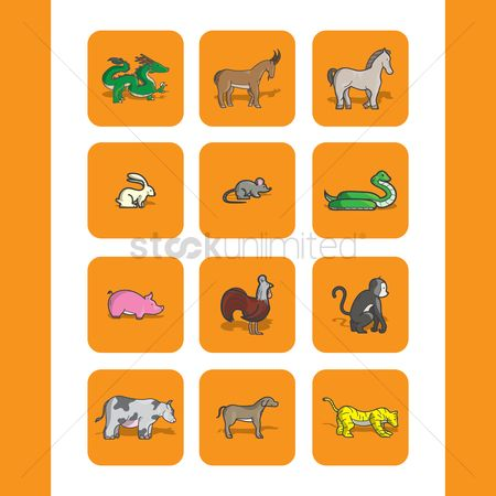 Horoscopes : Chinese zodiac animals