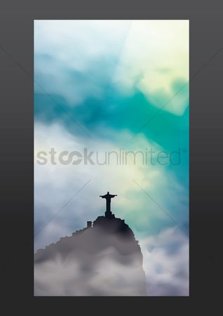 Statues : Christ the redeemer mobile wallpaper