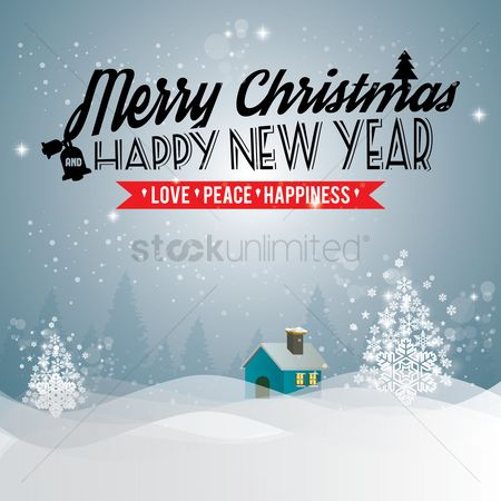 Cloth : Christmas and new year greeting