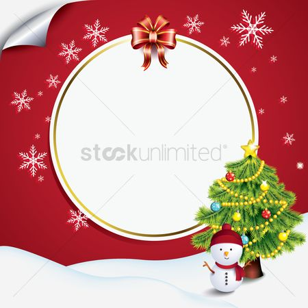 Copy spaces : Christmas background design