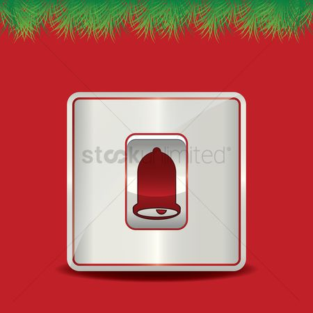 Jingle bells : Christmas bell button