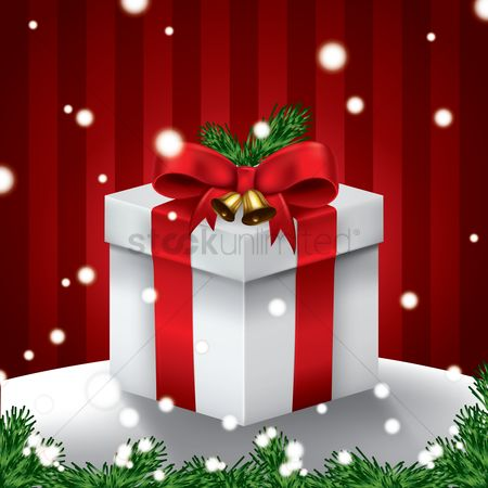 Boxes : Christmas gift box