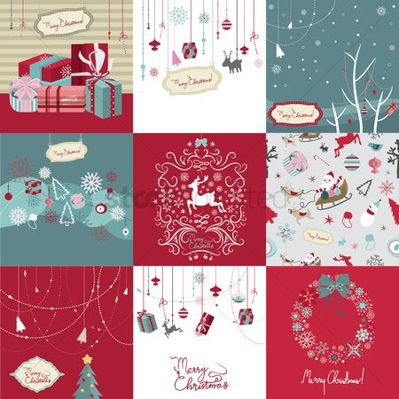 Bauble : Christmas greeting collection