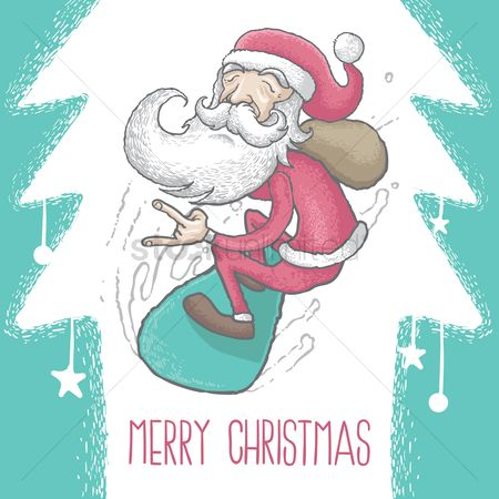 Santa : Christmas greeting