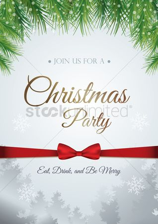 Fonts : Christmas party design