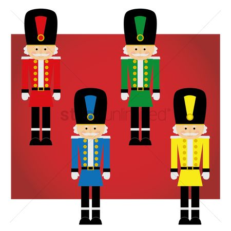 Soldiers : Christmas soldiers