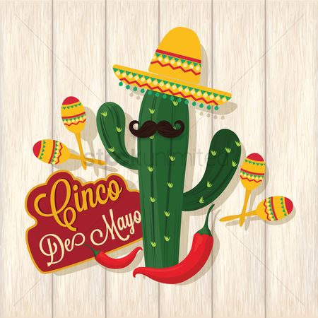 Musicals : Cinco de mayo design