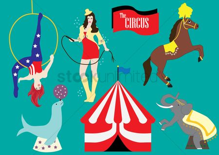 Tents : Circus collection