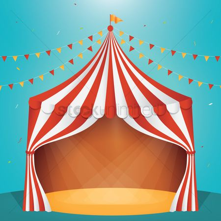 Commercials : Circus tent design