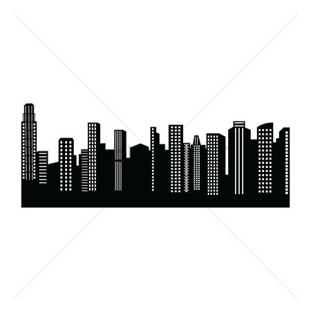 Cutout : City silhouette