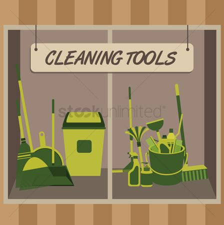 Brooms : Cleaning supplies