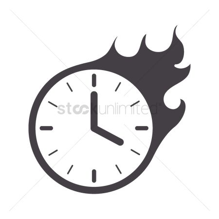 Free Clock Icon Hours Minute Stock Vectors   StockUnlimited