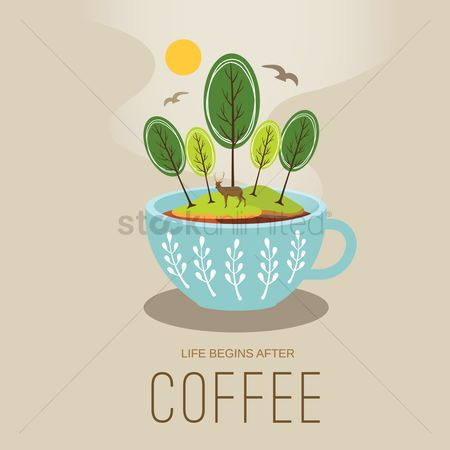 Coffee cups : Coffee design
