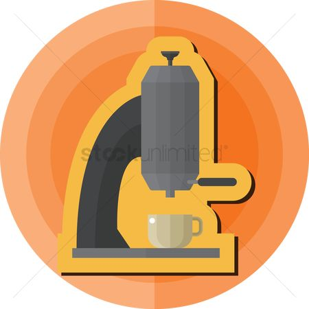 Makers : Coffee maker with cup