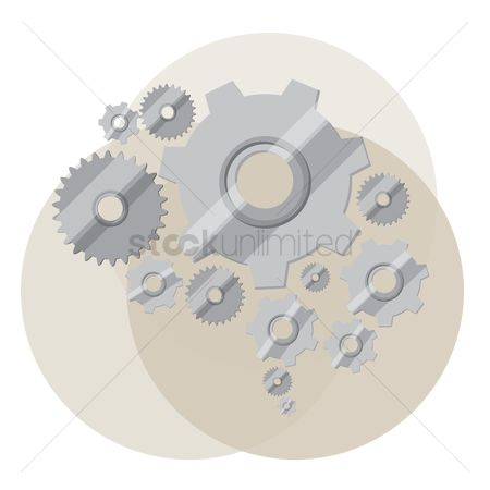 Mechanicals : Cogwheel and gears