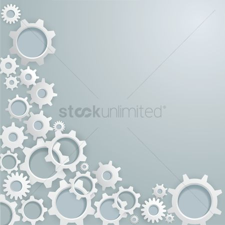 Background abstract : Cogwheel background