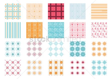 Geometrics : Collection of abstract background