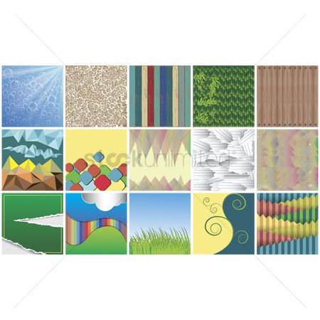 Grass background : Collection of abstract backgrounds