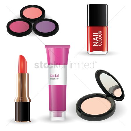 Cosmetic : Collection of beauty products