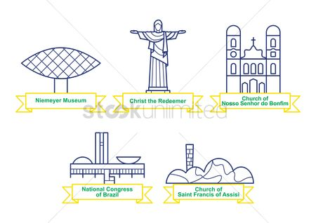Museums : Collection of brazil monuments