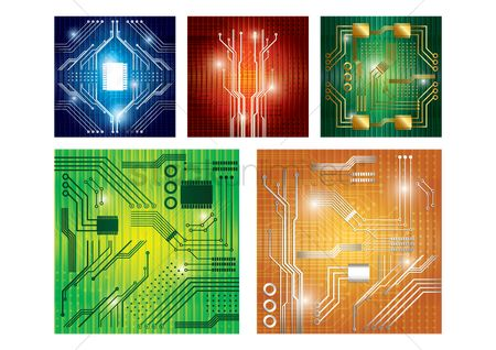 Technicals : Collection of circuit board designs