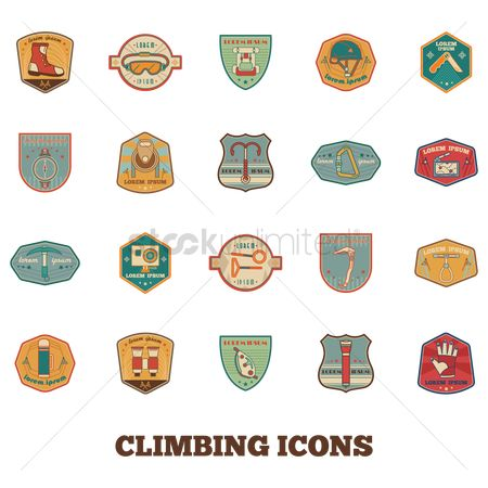 Torch : Collection of climbing icons
