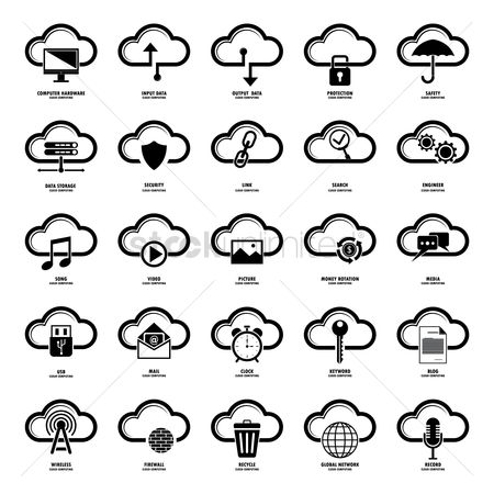 Hardwares : Collection of cloud computing