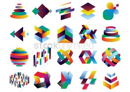 Styles : Collection of colorful patterns