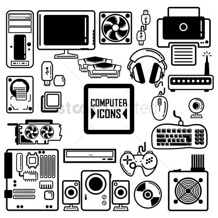 Speaker : Collection of computer components and peripherals