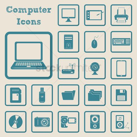 Handy : Collection of computer icons