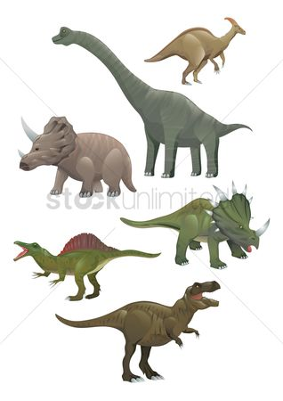 Huge : Collection of dinosaurs