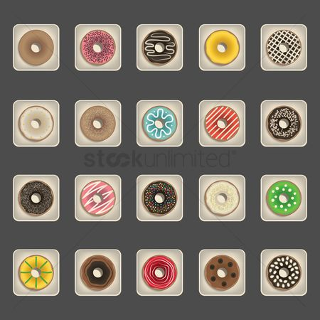 Doughnut : Collection of donuts