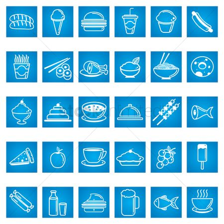 Grapes : Collection of food icons