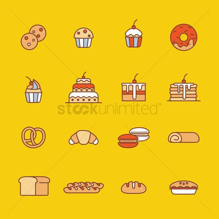 Biscuit : Collection of food items