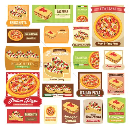 Pizzas : Collection of food