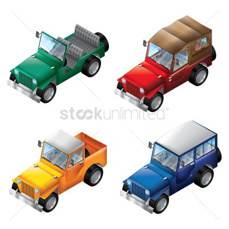 Truck : Collection of four wheel drives